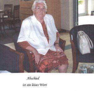 """""""Abschied ist ein leises Wort"""" Gedenklesung für Annemarie Neugebauer @ Mühlentreff"""