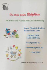 Die etwas andere Babybörse @ Mühlentreff