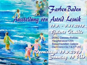 Vernissage Collagen und Malerei von Astrid Lesnik @ Mühlentreff