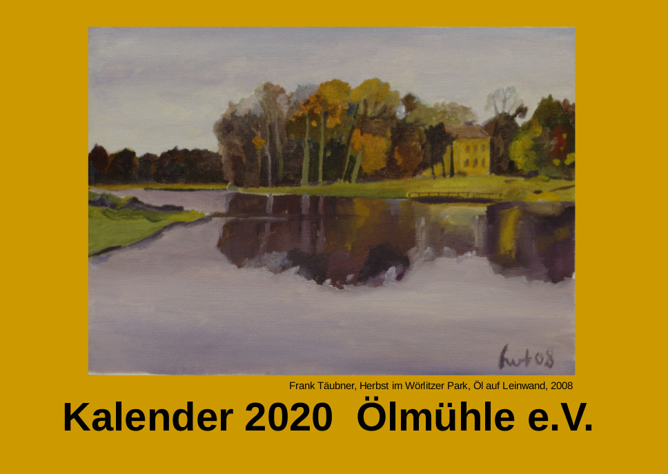 Ölmühlen-Kalender  2020 eingetroffen