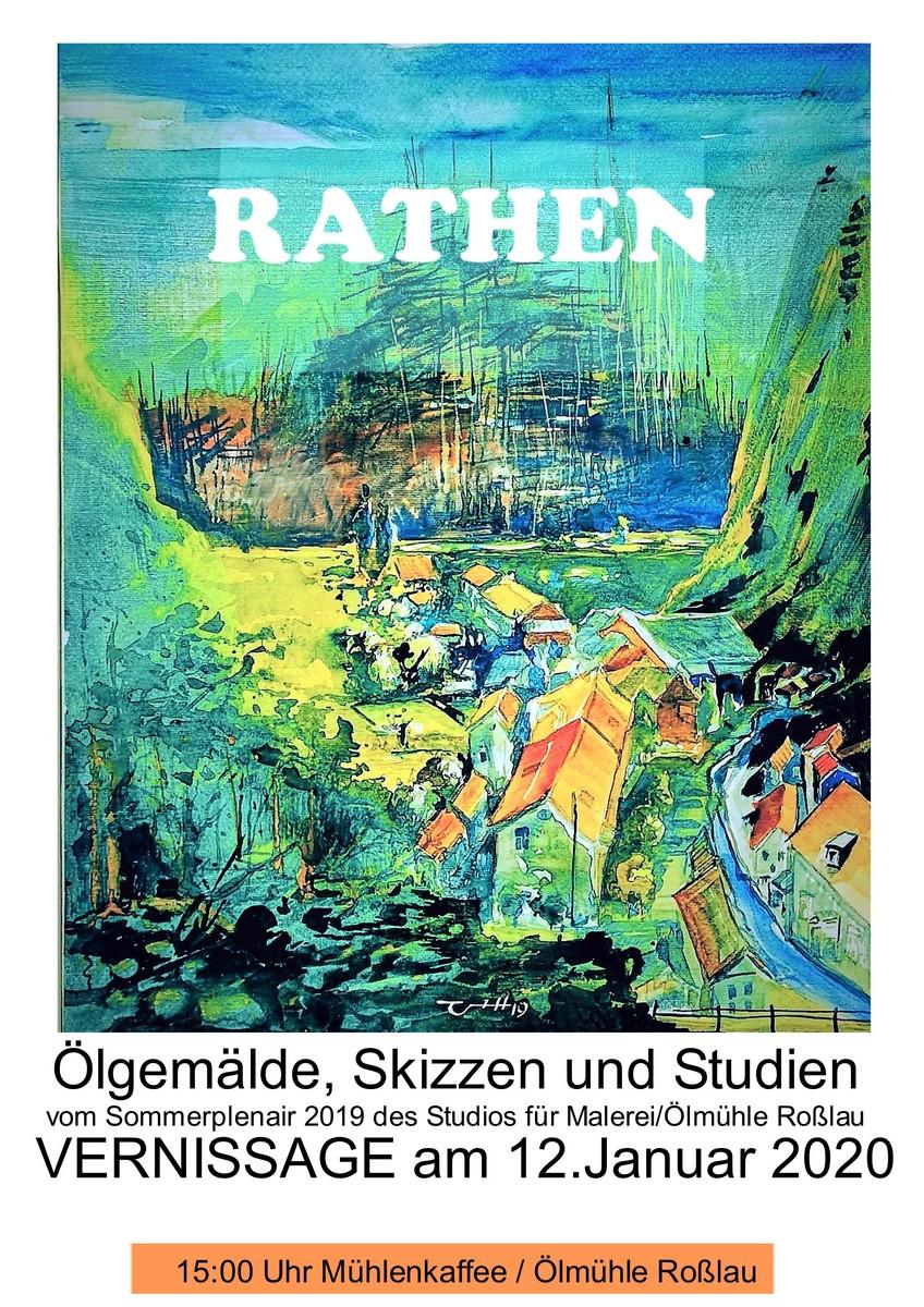 Vernissage Galerie Rathen Elbsandsteingebirge