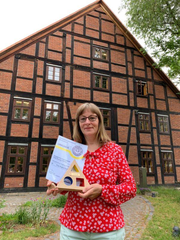 Auszeichnung des SI-Club an Regina Schumann