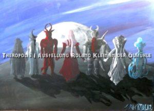 """Vernissage """"Theropolis I"""" Roland Klein @ Mühlentreff"""